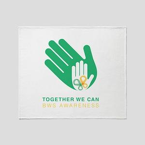 BWS Awareness 2018 Throw Blanket