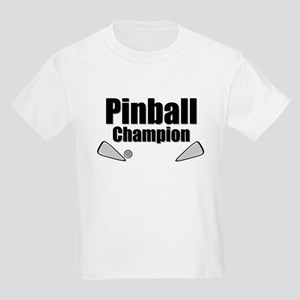 Old School Pinball Arcade Gam Kids Light T-Shirt