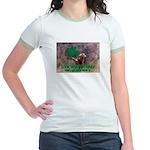 CAN I BE IRISH? Jr. Ringer T-Shirt
