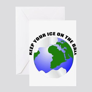 save the earth Greeting Cards