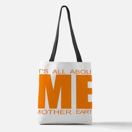 Global warming Polyester Tote Bag