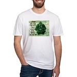 GREEN IRISH GORILLA Fitted T-Shirt