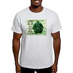 GREEN IRISH GORILLA Light T-Shirt