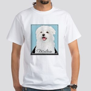 Cute Maltese Women's Dark T-Shirt