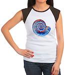 Ammonite Women's Cap Sleeve T-Shirt