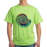 Ammonite Green T-Shirt