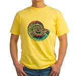 Ammonite Yellow T-Shirt