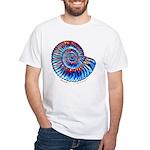 Ammonite White T-Shirt