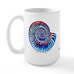 Ammonite Large Mug