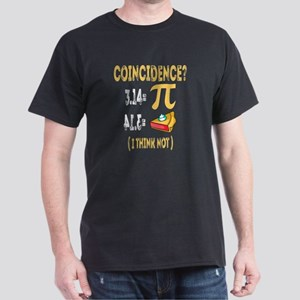 3.14 Pi Pie Coincidence -I Think Not Desig T-Shirt