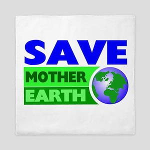 Earth day Queen Duvet
