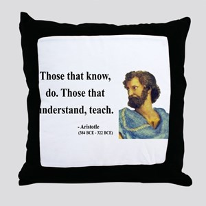 Aristotle 15 Throw Pillow