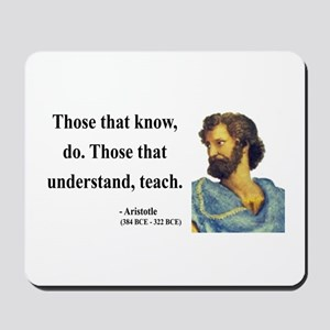 Aristotle 15 Mousepad