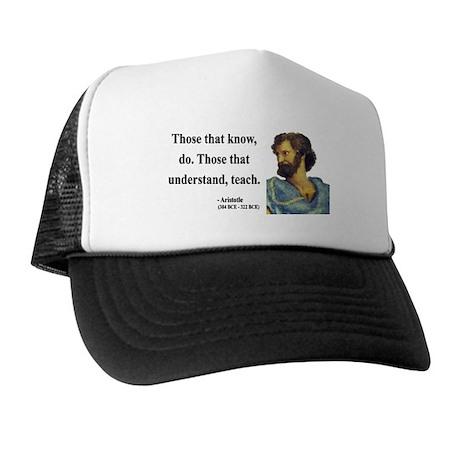Aristotle 15 Trucker Hat