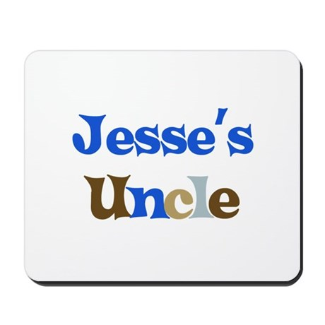 Jesse's Uncle Mousepad