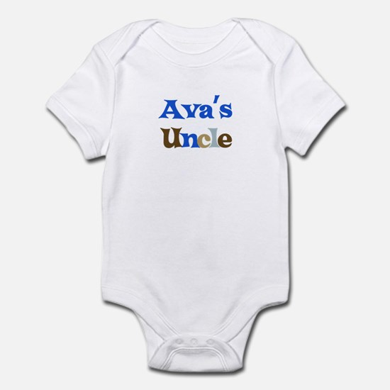 Ava's Uncle Infant Bodysuit