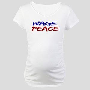 Wage Peace Maternity T-Shirt