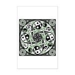 Celtic Stepping Stone Mini Poster Print