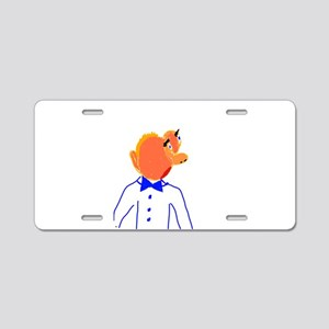 Mr. Aristocrat Aluminum License Plate