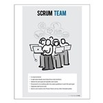 Scrum Team Small Poster