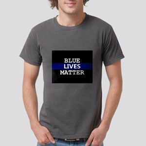 Blue Lives Matter Blue Stripe T-Shirt