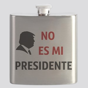 No Es Mi Presidente Not My President Flask