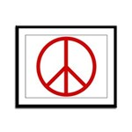 Peace Framed Panel Print