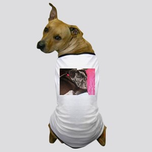 Sleepy Pug Mug Dog T-Shirt