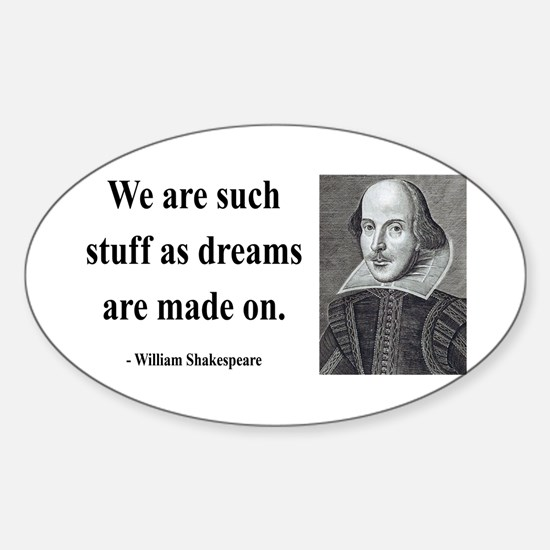 Shakespeare 12 Oval Decal