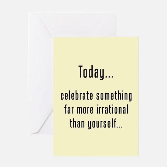 Happy Pi Day Greeting Card