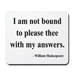 Shakespeare 13 Mousepad