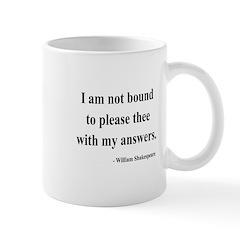 Shakespeare 13 Mug