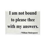 Shakespeare 13 Rectangle Magnet (100 pack)