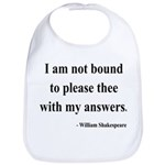 Shakespeare 13 Bib