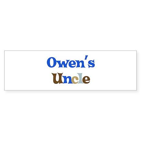 Owen's Uncle Bumper Sticker