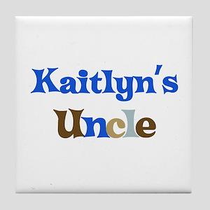 Kaitlyn's Uncle Tile Coaster