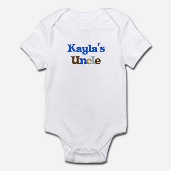 Kayla's Uncle Infant Bodysuit