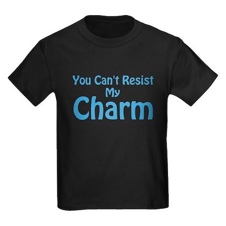 Blue My Charm Kids Dark T-Shirt