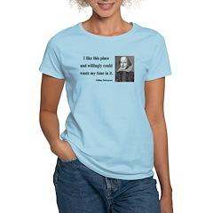 Shakespeare 15 Women's Light T-Shirt