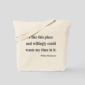 Shakespeare 15 Tote Bag