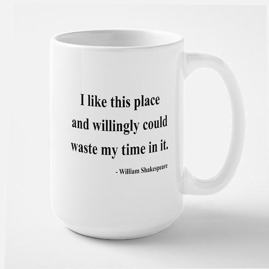 Shakespeare 15 Large Mug