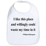 Shakespeare 15 Bib