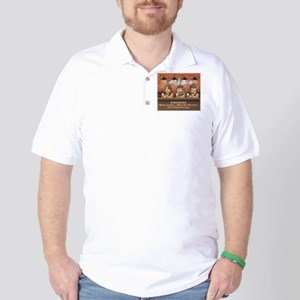 Sub-Biker Silver Golf Shirt