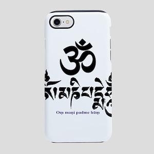 Om mani padme hum 3 iPhone 8/7 Tough Case