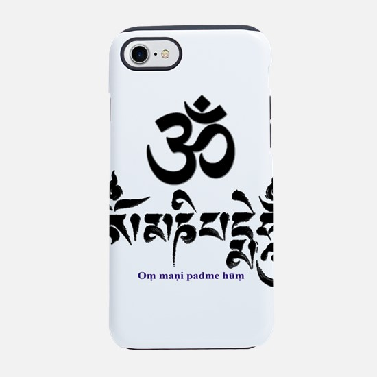 Om mani padme hum 3 iPhone 8/7 Tough Case