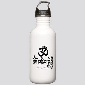 Om mani padme hum 3 Stainless Water Bottle 1.0L