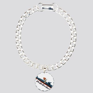 Sub Pin-Up Charm Bracelet, One Charm