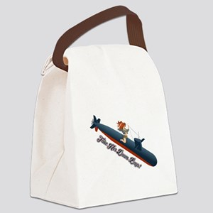 Sub Pin-Up Canvas Lunch Bag