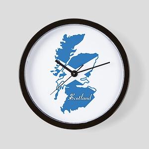 Cool Scotland Wall Clock
