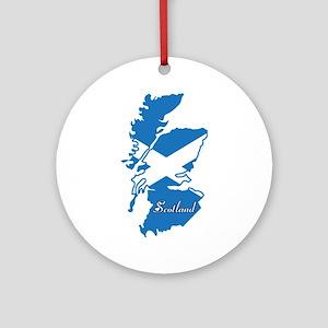 Cool Scotland Ornament (Round)
